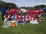 Sport's Implements Delivery to Canton Suquiat's Soccer School